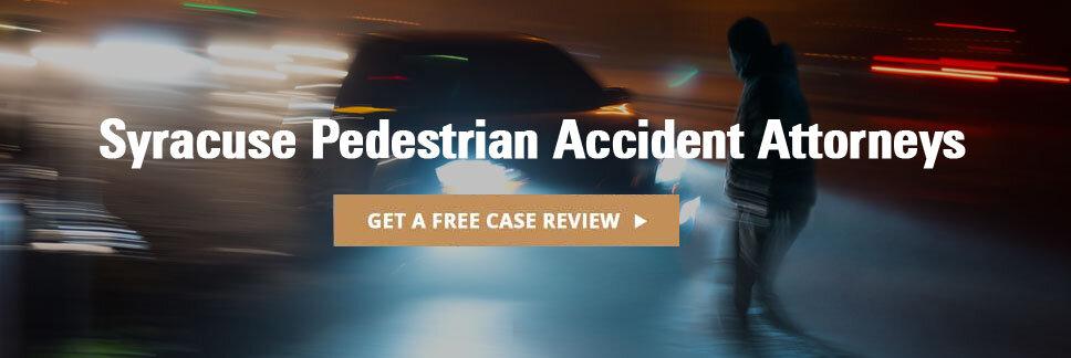 syracuse pedestrian accident injury lawyer
