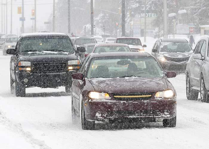 Winter Driving in Syracuse & CNY